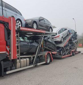 Prevoz vozil